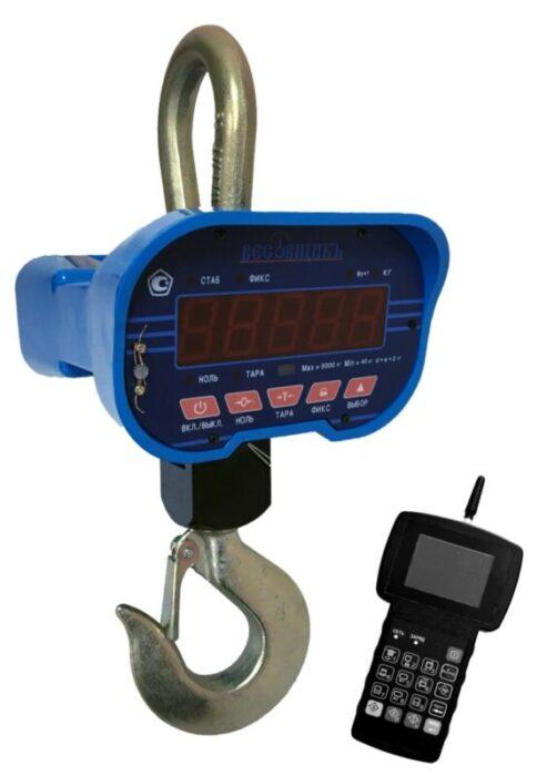 Весы крановые ВВК III-5000 с РПУ без поверки